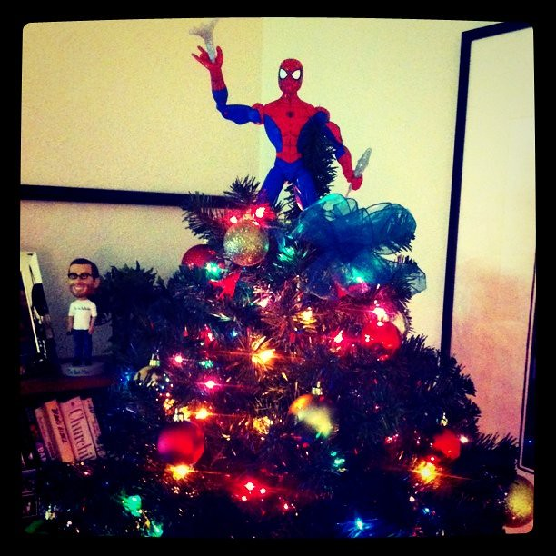 Spiderman Christmas Tree Topper Morgan Brown Flickr