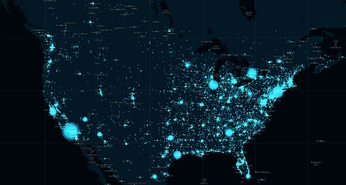 Visualization: U.S. (Archive) | by @Twitter