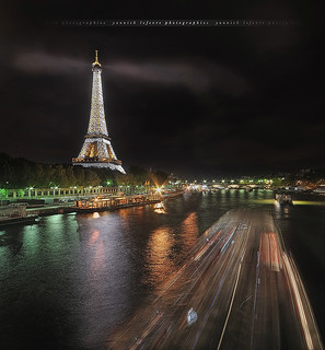 [Explore] Ghosts from a night shot, Eiffel Tower ~ Paris // France ~ | by Yannick Lefevre