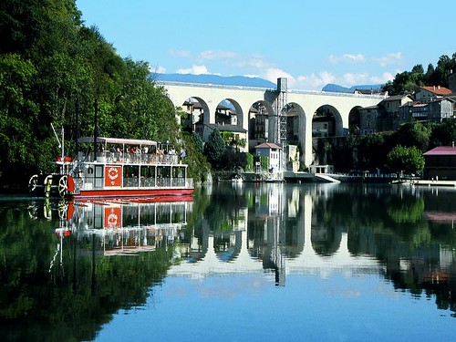 Bateau aqueduc st nazaire en royans patrimoine du royans flickr - Office de tourisme de st nazaire ...