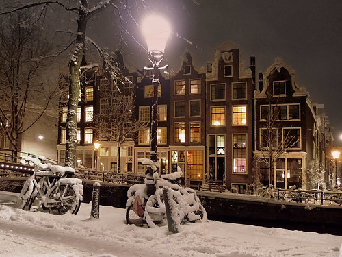 Magical winter wonderland in Amsterdam | by B℮n