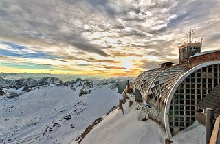 Sunset at the Zugspitze | by Luiz Pires