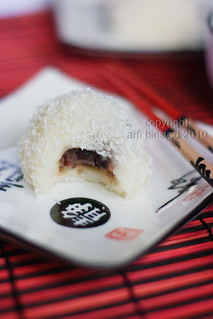 Mochi with Red Bean Paste filling | by Arfi Binsted of HomeMadeS