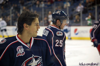 Columbus Blue Jackets v. Vancouver Canucks | by Teka England