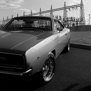 1968 Dodge Charger R/T Avatar - (Black & White and Red) | by 1968 Dodge Charger R/T | Scott Crawford