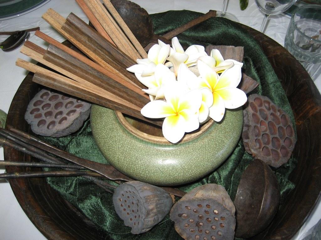 Lotus Flower Arrangement Delerious Tans Flickr