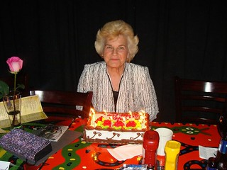 jean with cake | by delmccouryband