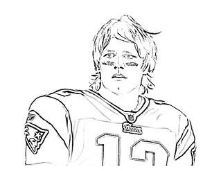 "coloring pages of tom brady | Tom Brady Coloring Page | From CBS Boston: ""BOSTON (CBS ..."