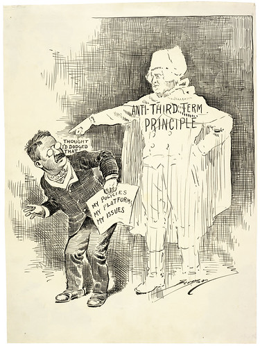 Untitled Cartoon. [Anti-Third Term Principle], 10/01/1912 | by The U.S. National Archives