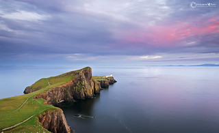 Isle-Of-Skye,-Nest-Point-defenitiva-con-cielo-rosso | by MichymonePhoto