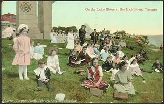 On the Lake Shore at the Exhibition, Toronto, Ontario, Canada (1910) | by Toronto Public Library Special Collections