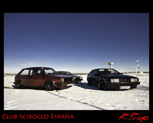 Scirocco Mk2 & Golf Mk1 | by Club Scirocco España