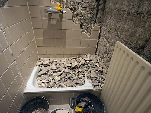 Badkamer - sloop | Met de aannemer - Gijs van Gorp - was afg… | Flickr