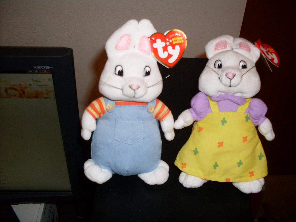 ... Max   Ruby Ty Beanie Babies  1760b9d3b90