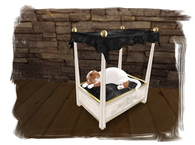 ... Bloggers Gifty- Canopy Cat Bed from u0027Kitty Catteryu0027 | by Kitty Ou0027  sc 1 st  Flickr & Bloggers Gifty- Canopy Cat Bed from u0027Kitty Catteryu0027 | Flickr