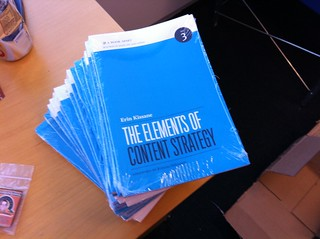 Elements of Content Strategy by Erin Kissane (shrink-wrapped) | by Jeffrey