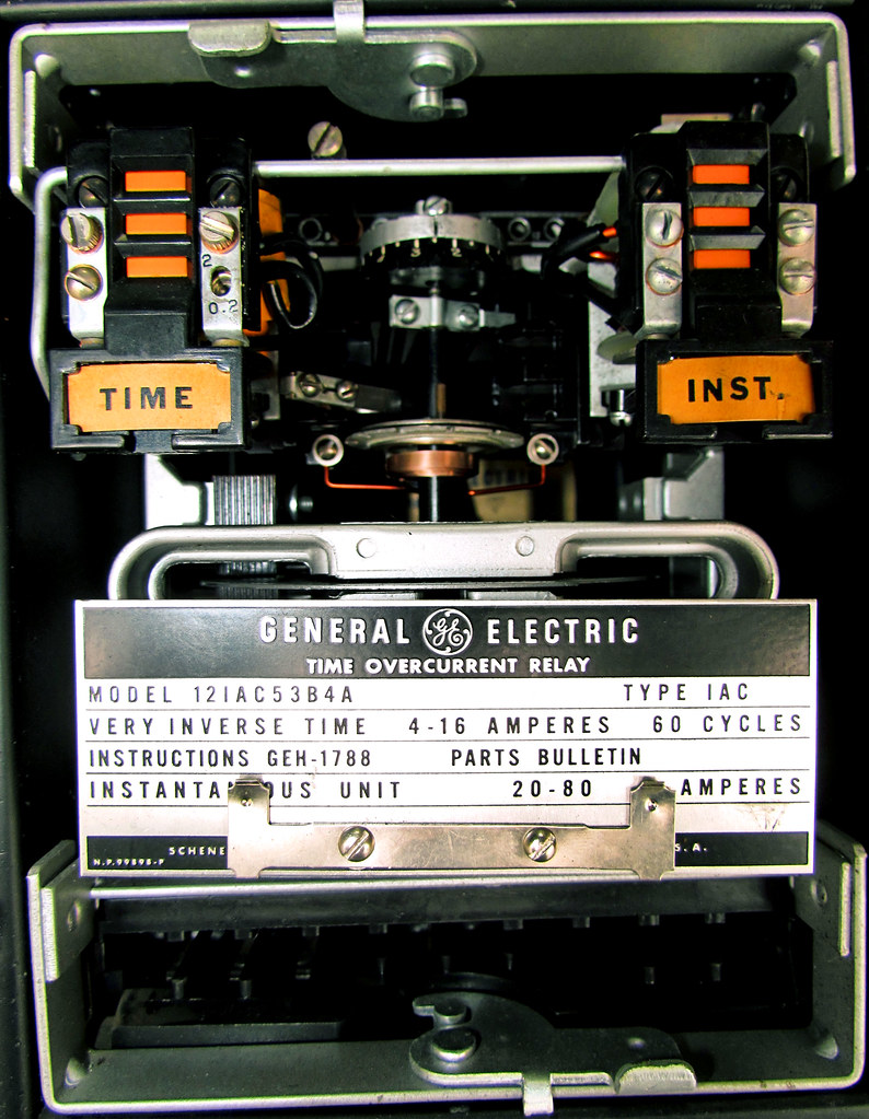 Time Overcurrent Relay Kyle Blaney Flickr Electrical By Kpat