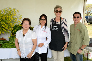 Chefs Anne Carpenter and Jennifer Nguyen at #MauiAgFest | by Slow Food Maui