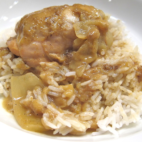 Chicken & Banana Curry | by katbaro
