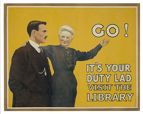 It's your duty to visit the library | by Phil Bradley