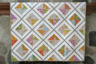 Urban Lattice quilt complete | by freshlypieced
