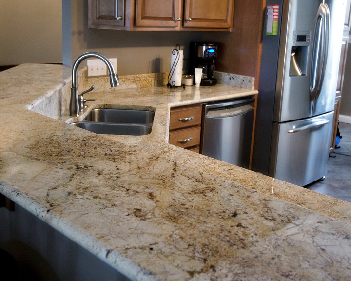 ... Granite Countertop Colonial Cream | By Qsi.countertops