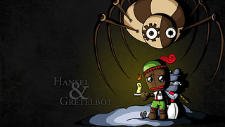 Hansel & Gretelbot PS3 Wallpaper | by mediamolecule