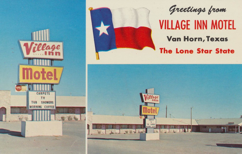 Village Inn Motel - Van Horn, Texas
