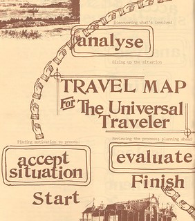 The Universal Traveler, Travel Map (detail 1) | by Eye magazine
