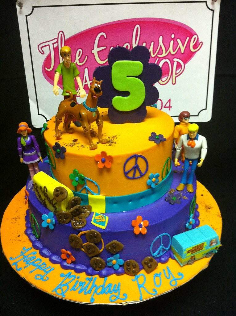Scooby Doo Birthday Cake Exclusive Cake Shop Flickr