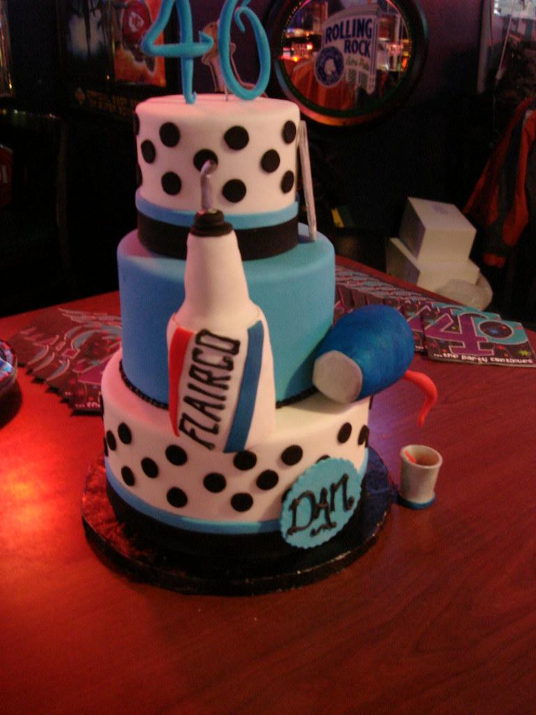Flair Bartender Birthday Cake Mark Murnahan Flickr