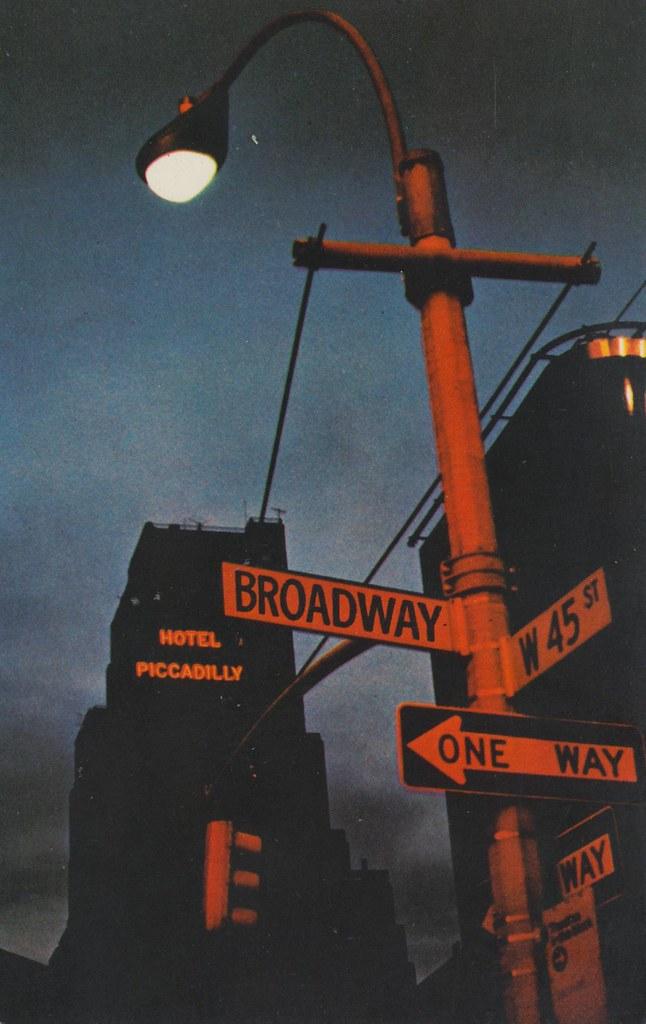 Hotel Piccadilly and Scandia Restaurant - New York, New York