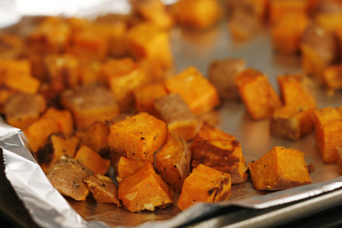 Roasted Sweet Potatoes with Garlic and Ginger | www.sarahscu… | Flickr