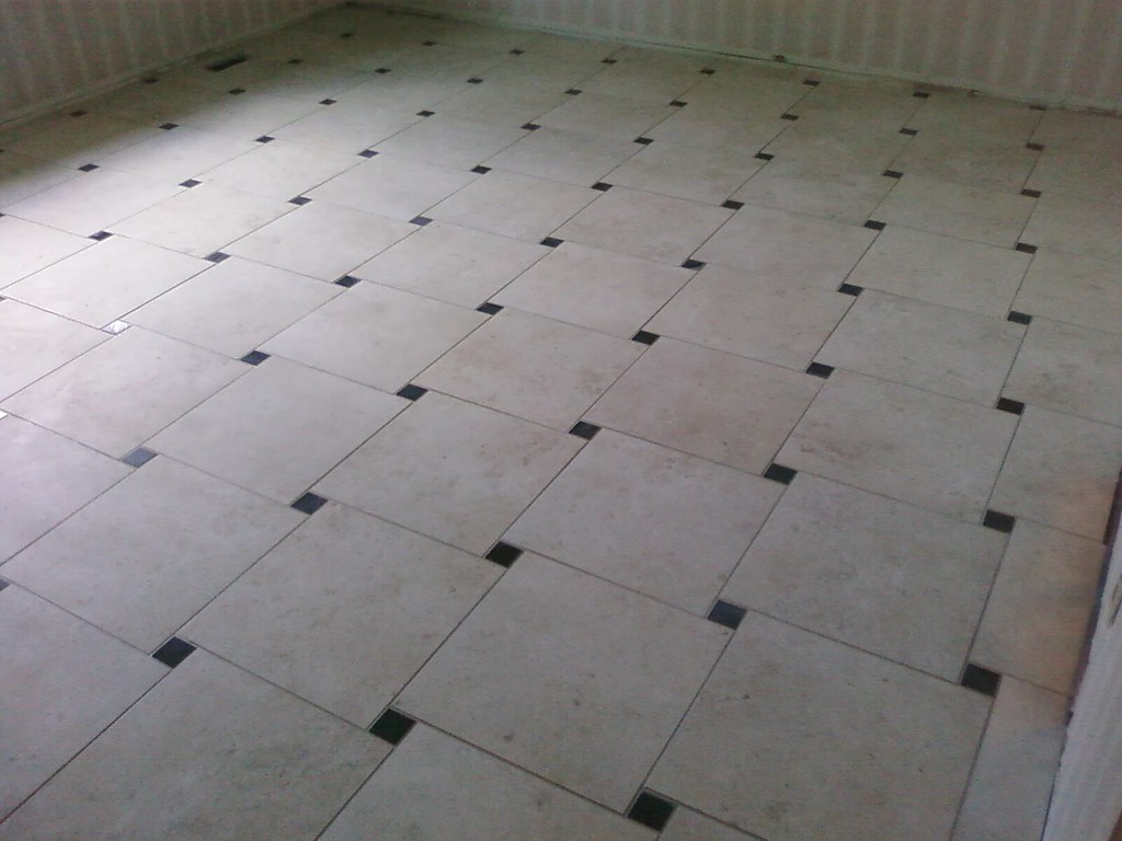 Tile Floor With A Pinwheel Pattern Qualitydesignconstruction Flickr