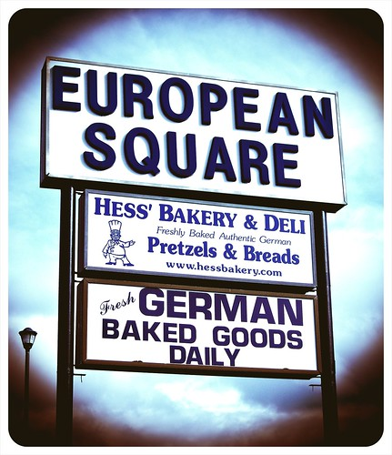European Square (roadside sign) | by Vorona Photography