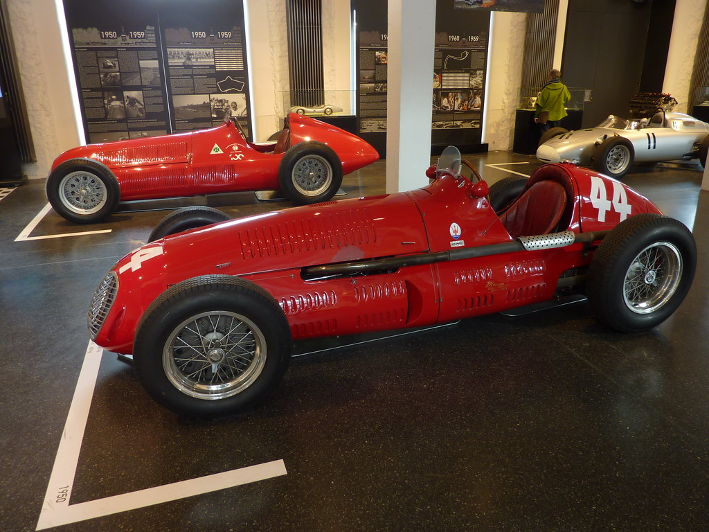 Alfetta Tipo And Maserati Race Cars Flickr
