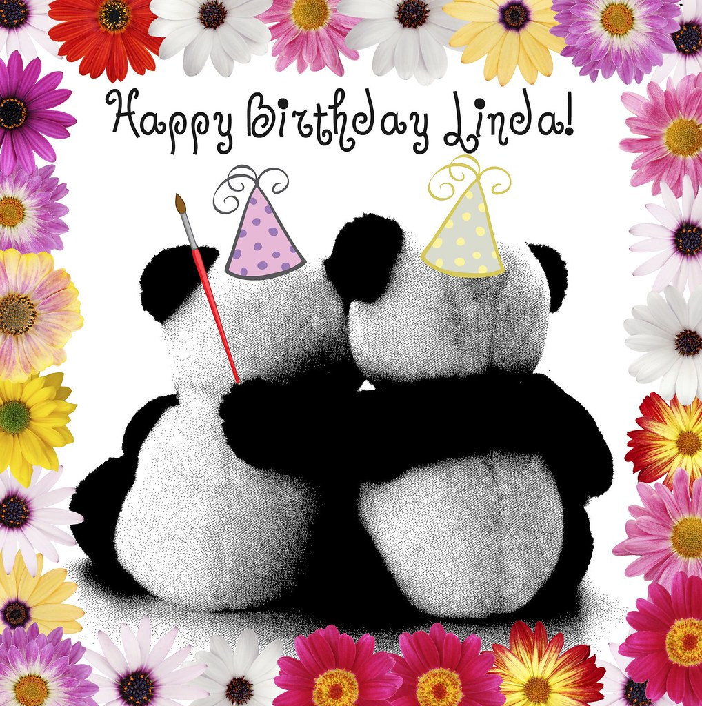 Happy Birthday Linda To Our Resident Artist Have A Wonde Flickr