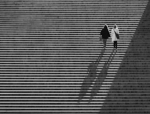 Les escaliers du Trocadéro ~ Paris | by . ADRIEN .