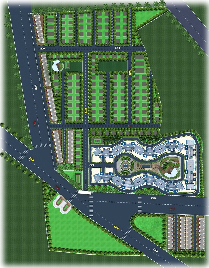Top view of layout plan of Dajikaka Gadgil Developers\' Ana… | Flickr
