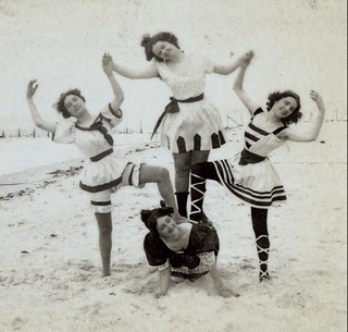 (animated stereo) Coney Island Bathers, 1899 | by Thiophene_Guy