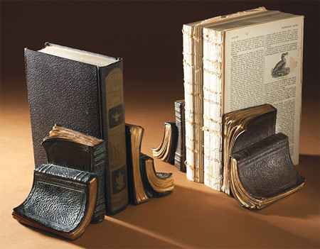 Book bookend | by book bag designer