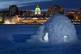 Igloo_Lake Monona005 - Madison, WI | by ebaillies