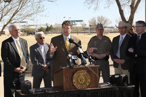 Securing Our Border | by Texas Governor Rick Perry