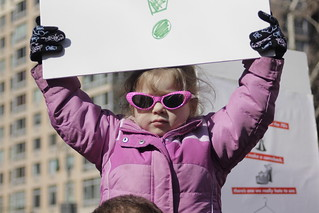 Child at Planned Parenthood rally | by WarmSleepy