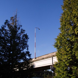 Lightpole at I-90 Interchange - Bellevue WA | by KurtClark