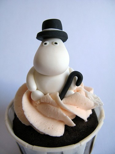 Moomin Cupcakes | by abakedcreation
