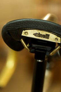 Brass Plate by Cinelli | by mobius cycle