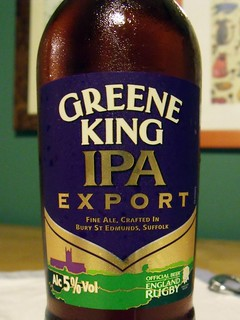 Greene King, IPA Export, England