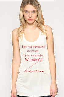 Wonderful Tee | by RosieG Embroidery