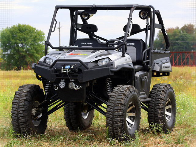 Lifted Polaris Ranger XP 900 - UTV Guide